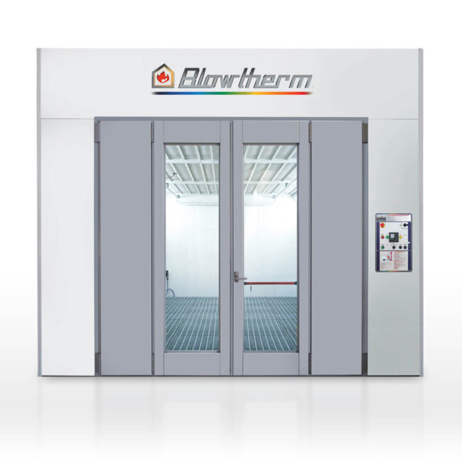 World/S - spray booth with excellent price-performance ratio