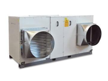 Unità termoventilante con batteria ad acqua per strutture sportive - IH/HS W.C.