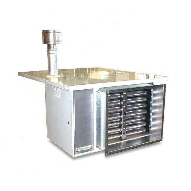Generatore d'aria calda pensile centrifugo per esterno