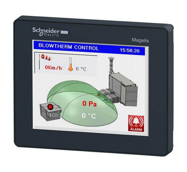 PLC per controllo generatori per impianti sportivi