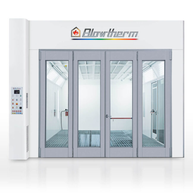 World - spray booth and oven. Ther performance option for experts.