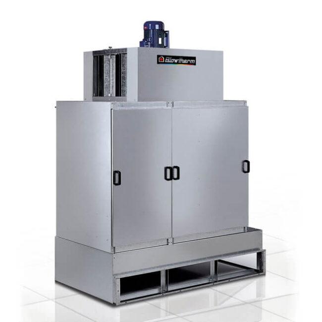 Sistema di filtrazione per solventi, compositi organici volatili (VOC) e odori