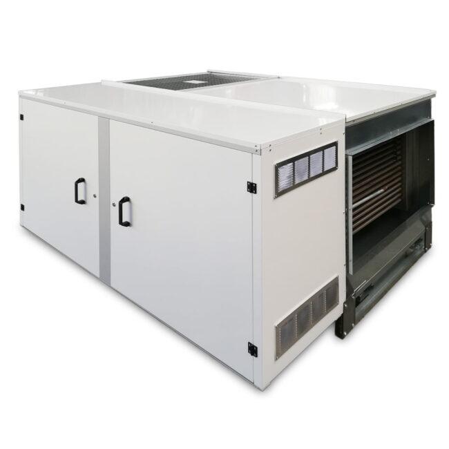 IH-AR generatore d'aria calda orizzontale per esterno