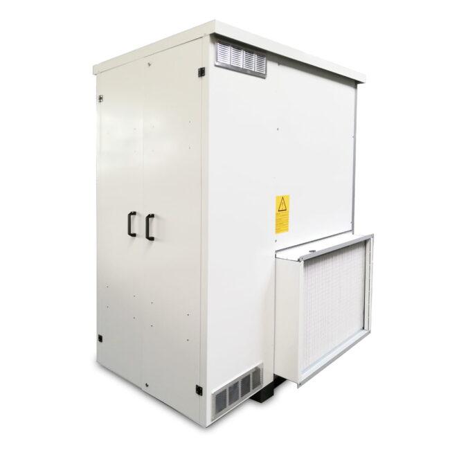 IH-AR generatore d'aria calda verticale per esterno