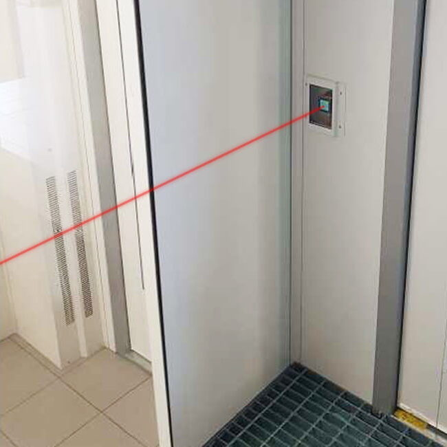 Controllo intelligente ventilazione laser cabina verniciatura