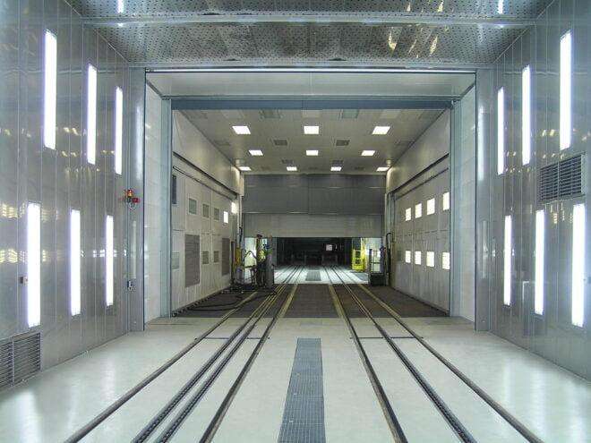 Impianto di verniciatura a tunnel