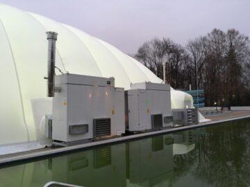 Generatori IH/AS per pressostruttura per piscina
