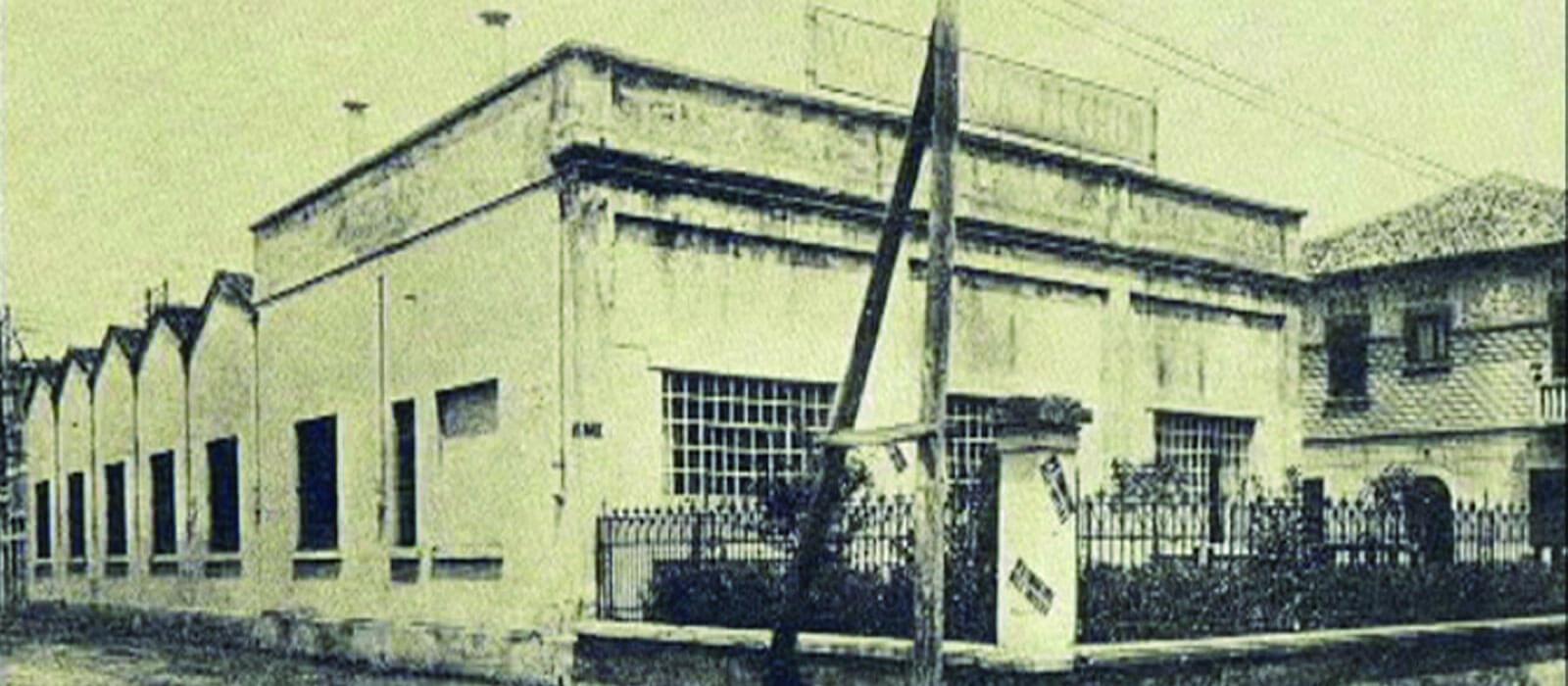 Wo Dipl. Ing. Giovanni Peghin startet. Standort und Fabrik Blowtherm Padova 1956