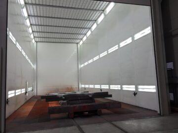 Cabina verniciatura industriale extra large