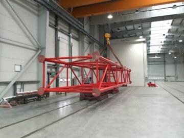 Cabina di verniciatura industriale di grandi dimensioni Space