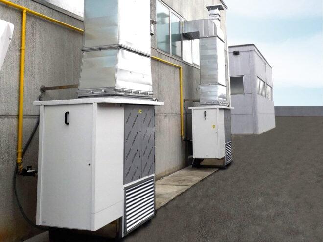 Generatori IH/AR a condensazione per riscaldamento e ventilazione