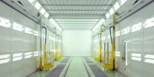 Componenti Paint-lift per verniciatura autobus, camion e treni