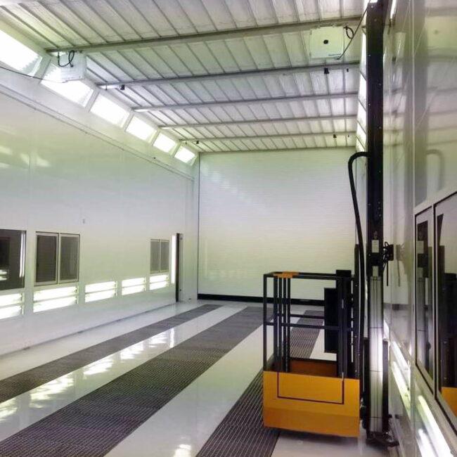 Paint lift Blowtherm impianto verniciatura