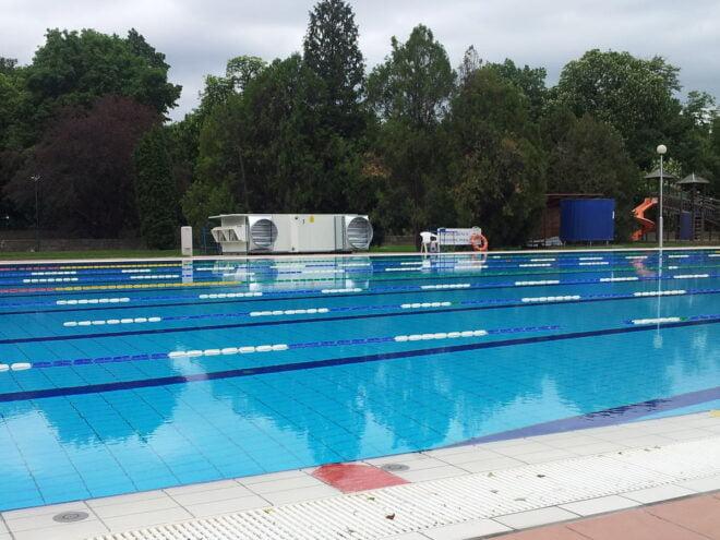 Ventilazione riscaldamento piscina