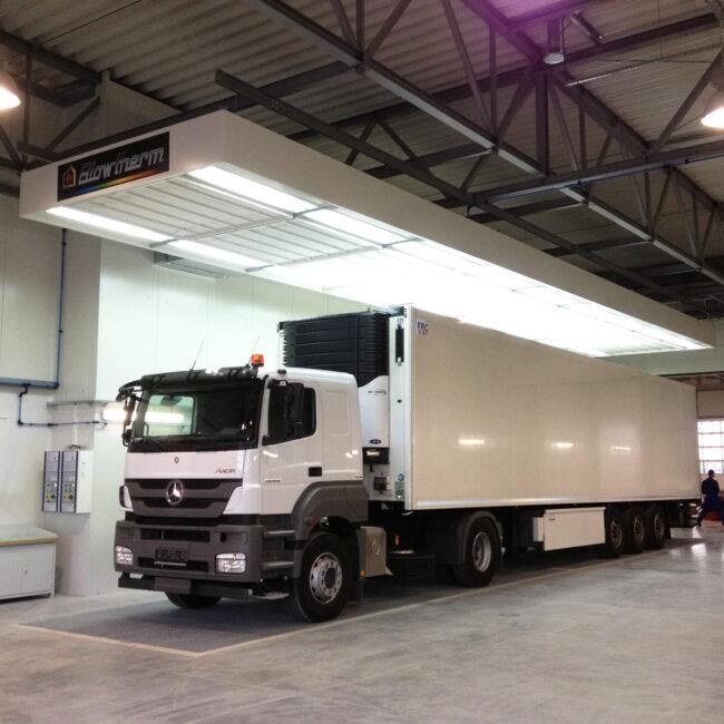 Posti preparazione camion