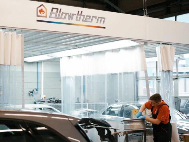 Zone di preparazione per verniciatura automotive