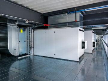 Gruppi termoventilanti per impianto di verniciatura industriale